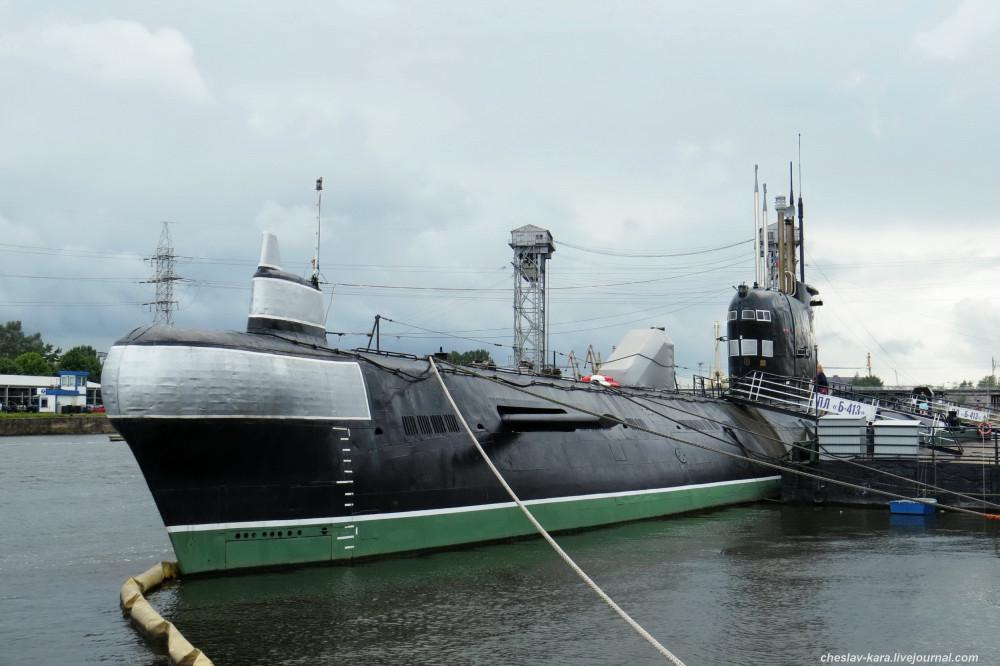 Подлодка Б-413 в Калининграде
