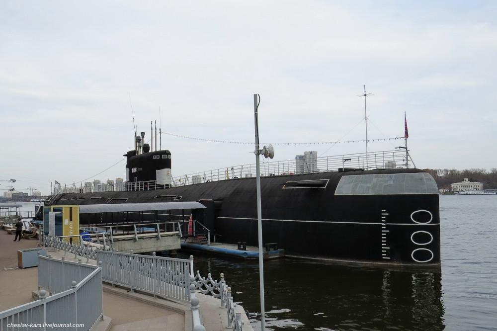 """Б-396 """"Новосибирский комсомолец"""" – подлодка-музей в Москве"""