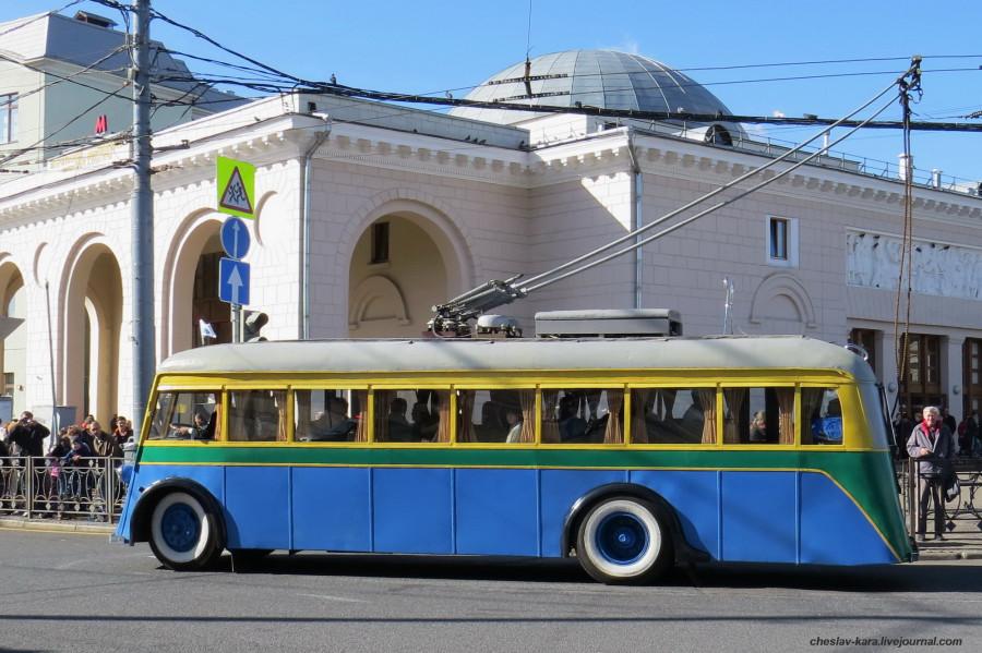 14 ЯТБ-1 Ретротроллейбус _560 (ЯТБ-1 1936г).JPG