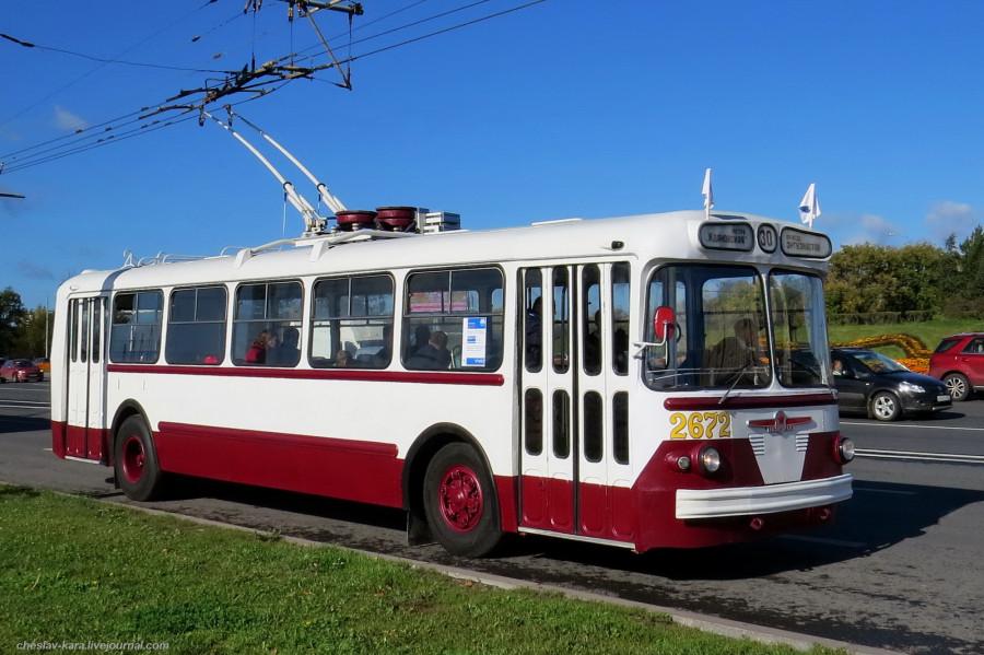 60 ЗиУ-5Г Ретротроллейбус _1300 (ЗиУ-5Г 1966г).JPG