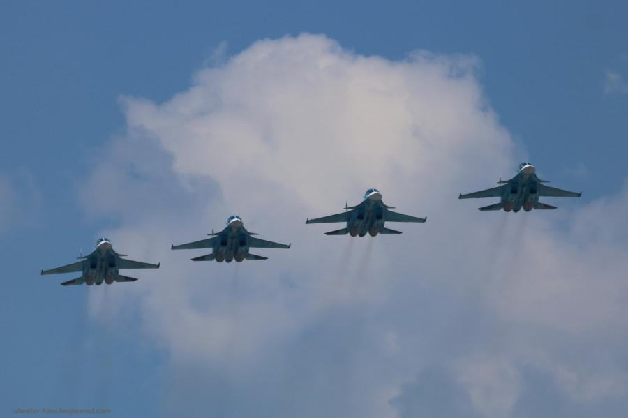 Парад Победы 2019- авиация _1070 Су-34.JPG