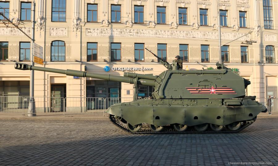15 - САУ Мста-С (Парад Победы 2019) _210.JPG
