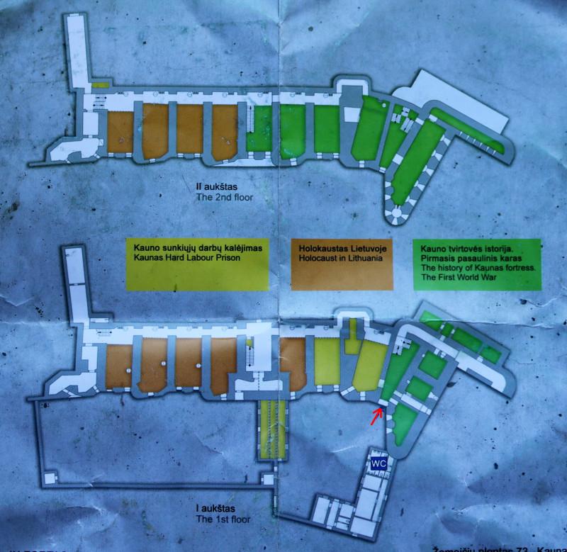 Каунас, форт IX - план казармы _2.JPG