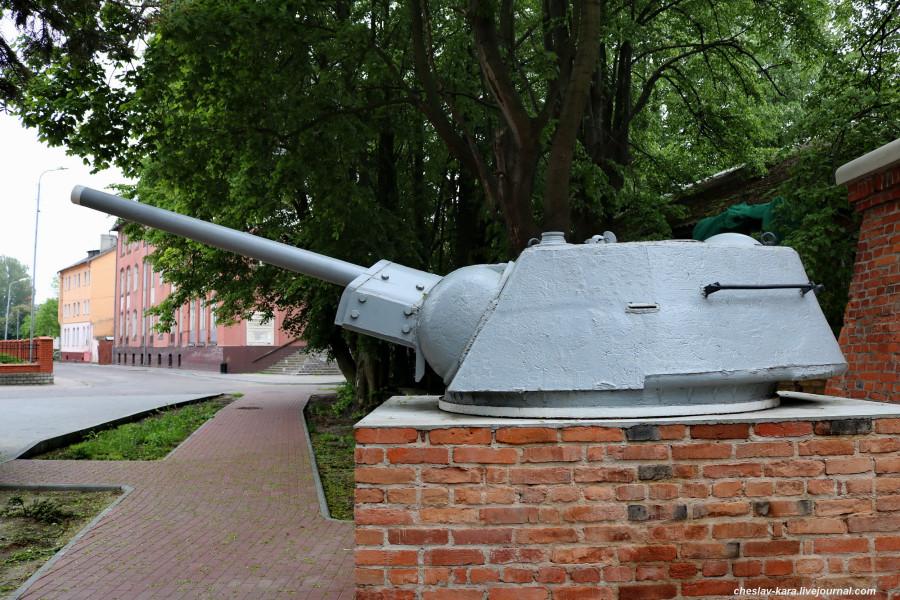 Балтийск, башня от Т-34 с БКА _50.JPG