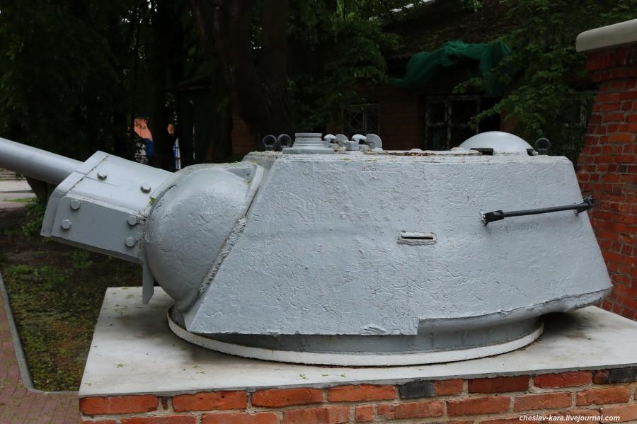Балтийск, башня от Т-34 с БКА _60.JPG