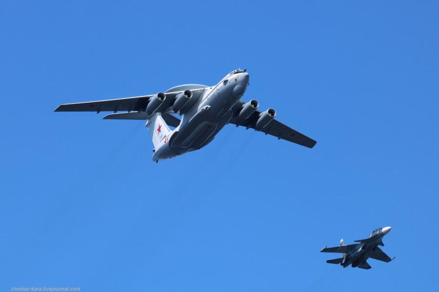 70 А-50, Су-30СМ (День ВМФ, Кр-дт и СПб, июль2019) _40.JPG