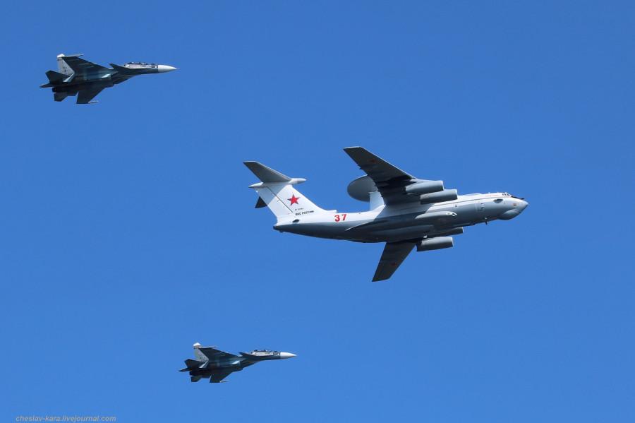 70 А-50, Су-30СМ (День ВМФ, Кр-дт и СПб, июль2019) _100.JPG