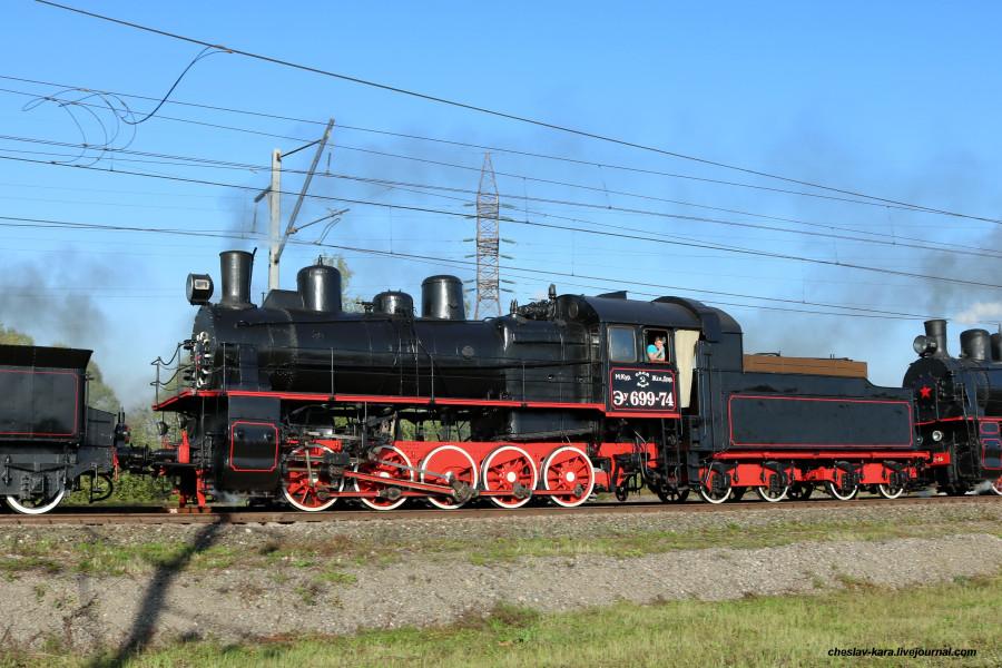 30 паровоз Эу-699-74 (Щербинка, авг2019) _340.JPG
