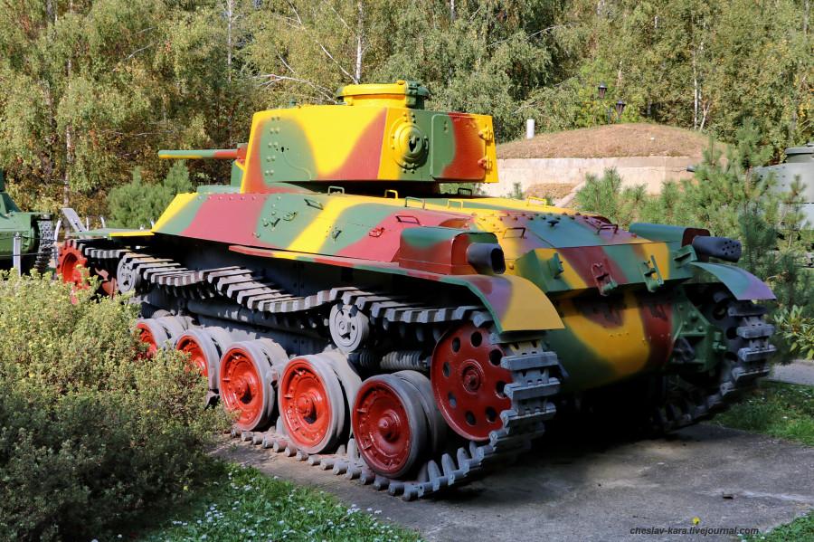 22 танк тип 97 Шинкото Чи-Ха (Поклонная) _60.JPG