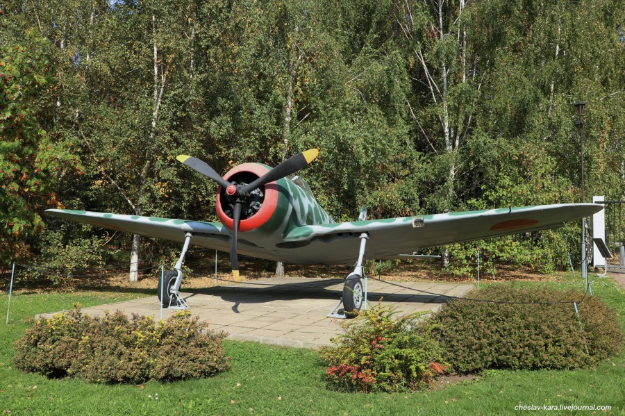 истребитель Ki-43 Hayabusa (Поклонная гора) _40.JPG