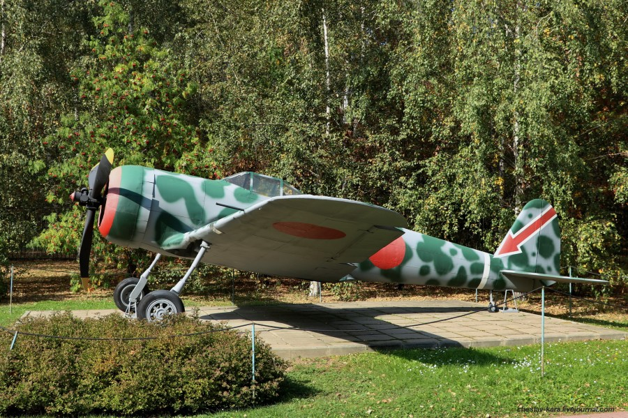 истребитель Ki-43 Hayabusa (Поклонная гора) _50.JPG