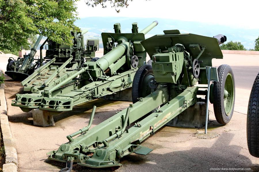10 152 мм Д-1 и 122мм А-19 Сапун-гора _4500.JPG