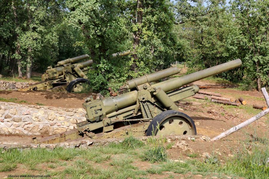 24 герм 150 мм гаубица 15 cm sFH 18 (Сапун-гора) _120.JPG