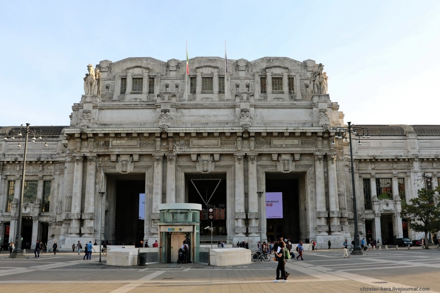 0 Милан, вокзал _100 Milano Centrale.JPG