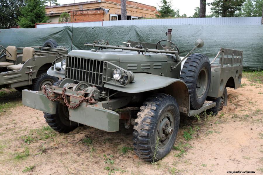 4 Dodge WC-52, автомузей (Переяславль) _20.JPG