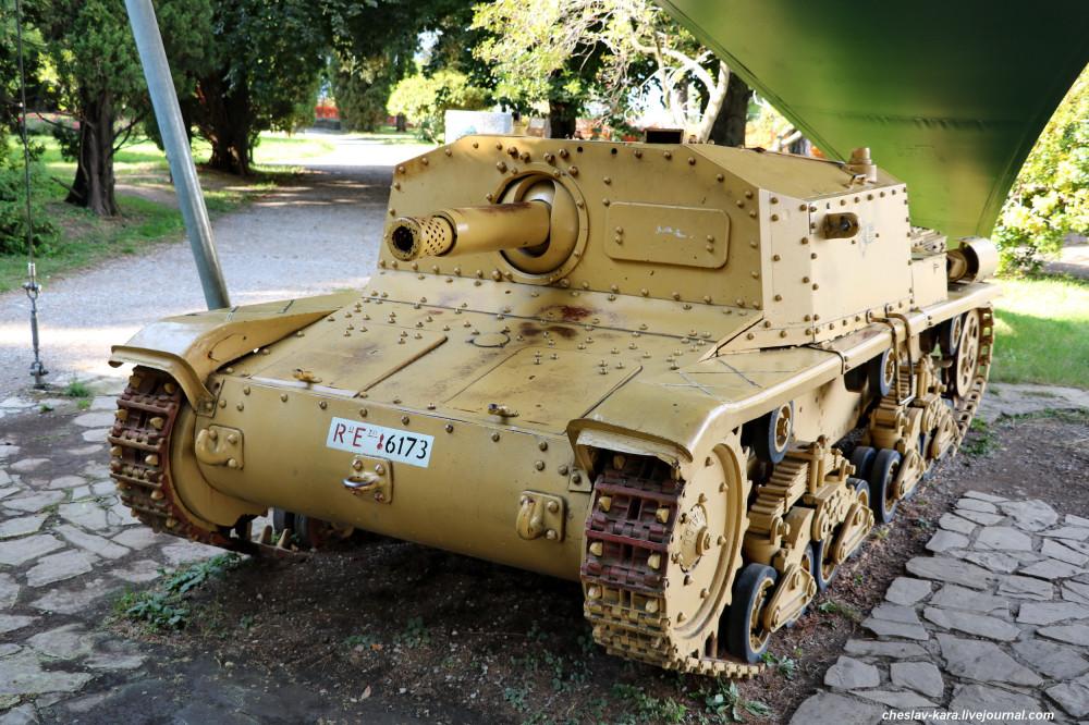 0 САУ Semovente da 75-18 M42  (Бергамо) _70.JPG