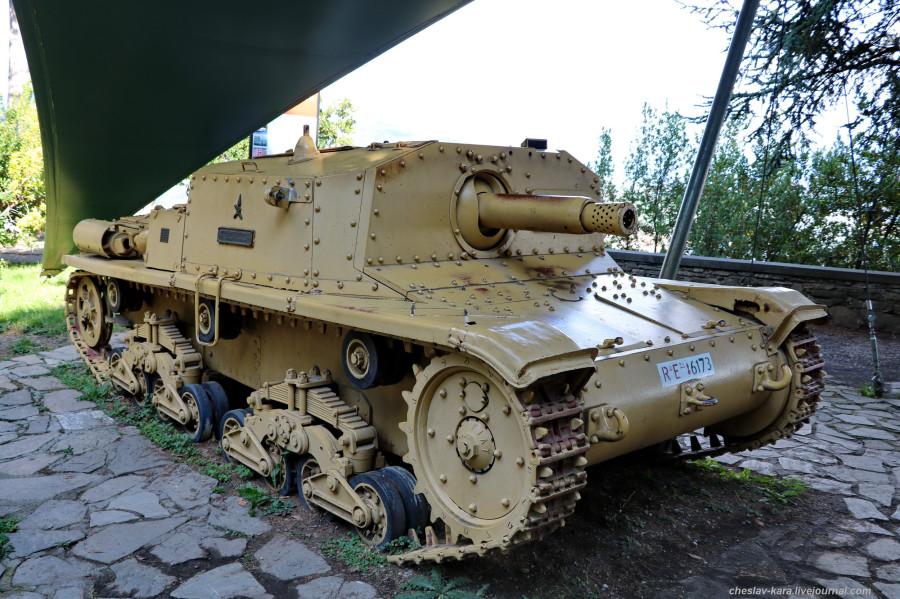 2 САУ Semovente da 75-18 M42  (Бергамо) _20.JPG