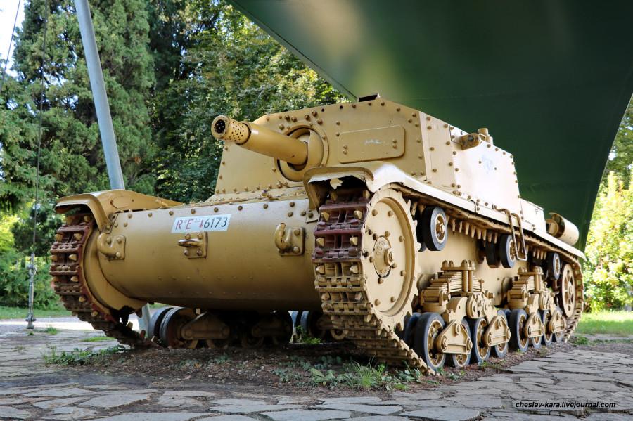 4 САУ Semovente da 75-18 M42  (Бергамо) _60.JPG