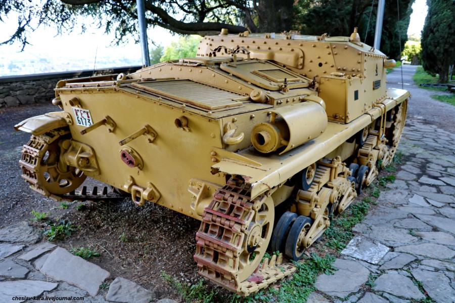 10 САУ Semovente da 75-18 M42  (Бергамо) _90.JPG