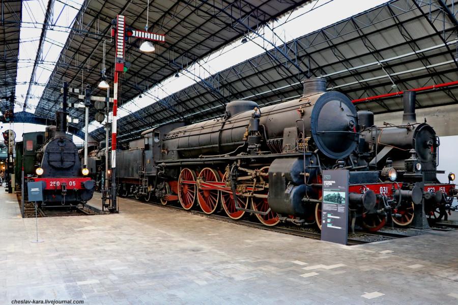 4 паровоз 746 031 и другие (Милан, музей техники) _20.JPG