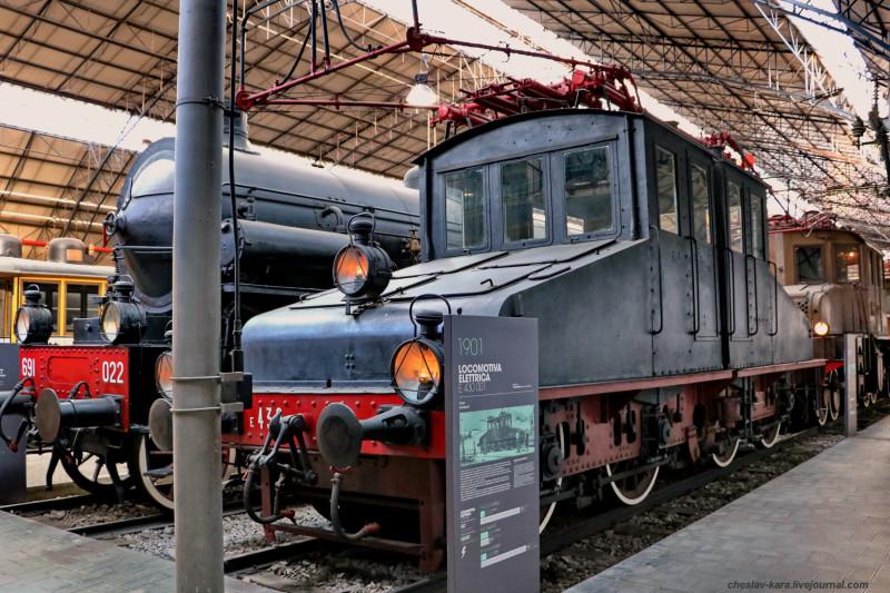 10 электровоз E430 001 (Милан, музей техники) _30.JPG