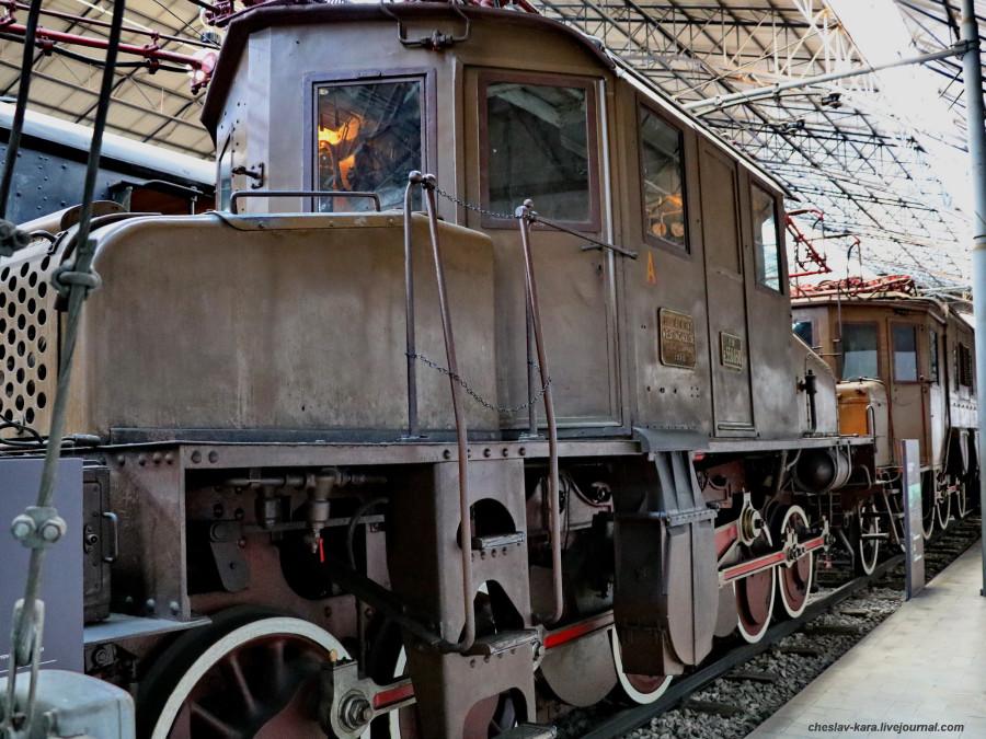 12 электровоз E550 030 (Милан, музей техники) _30.JPG