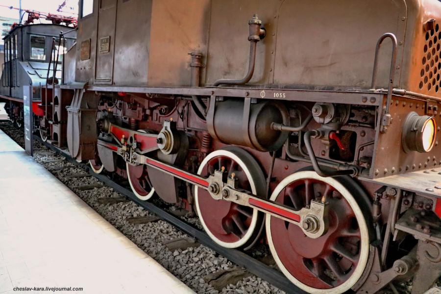 12 электровоз E550 030 (Милан, музей техники) _70.JPG