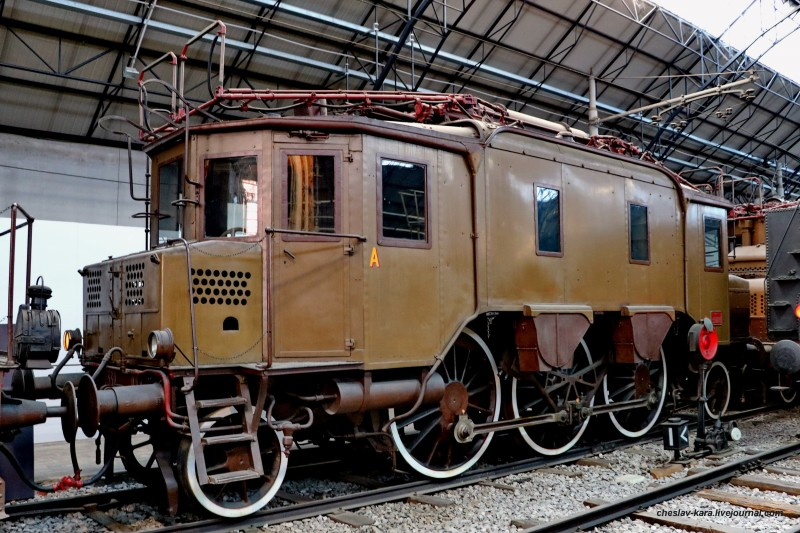 14 электровоз E330 008 (Милан, музей техники) _20.JPG