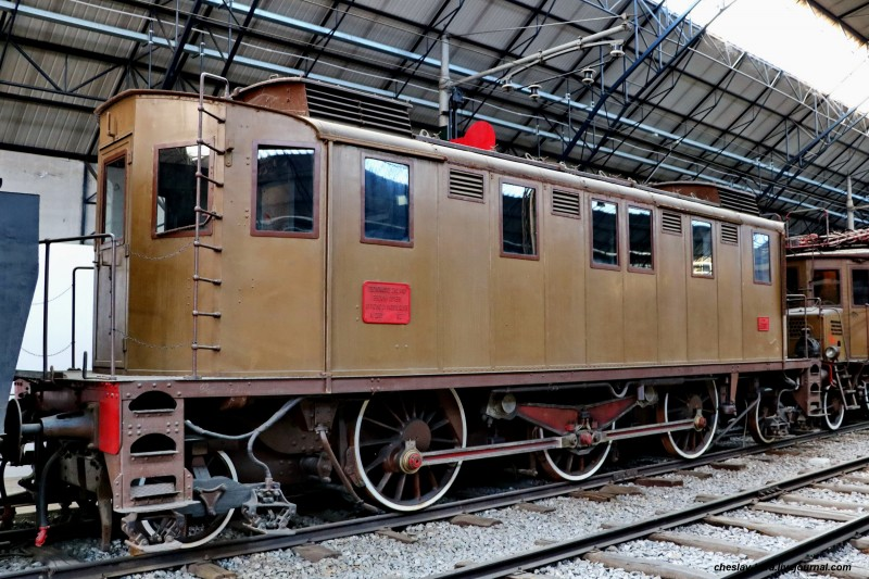 16 электровоз E321 012 (Милан, музей техники) _20.JPG