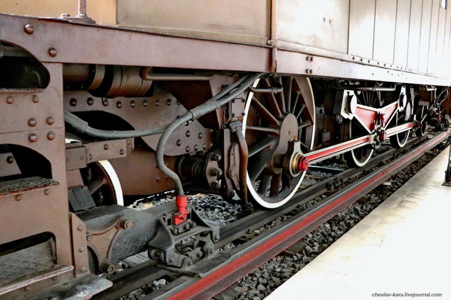 16 электровоз E321 012 (Милан, музей техники) _80.JPG