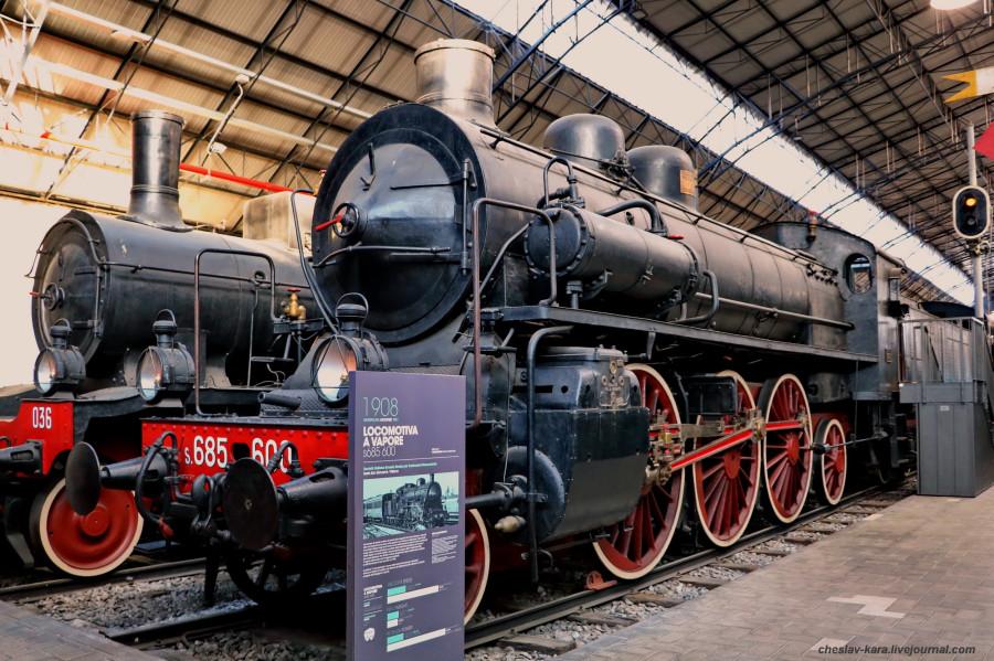 26 паровоз s685 600 (Милан, музей техники) _20.JPG