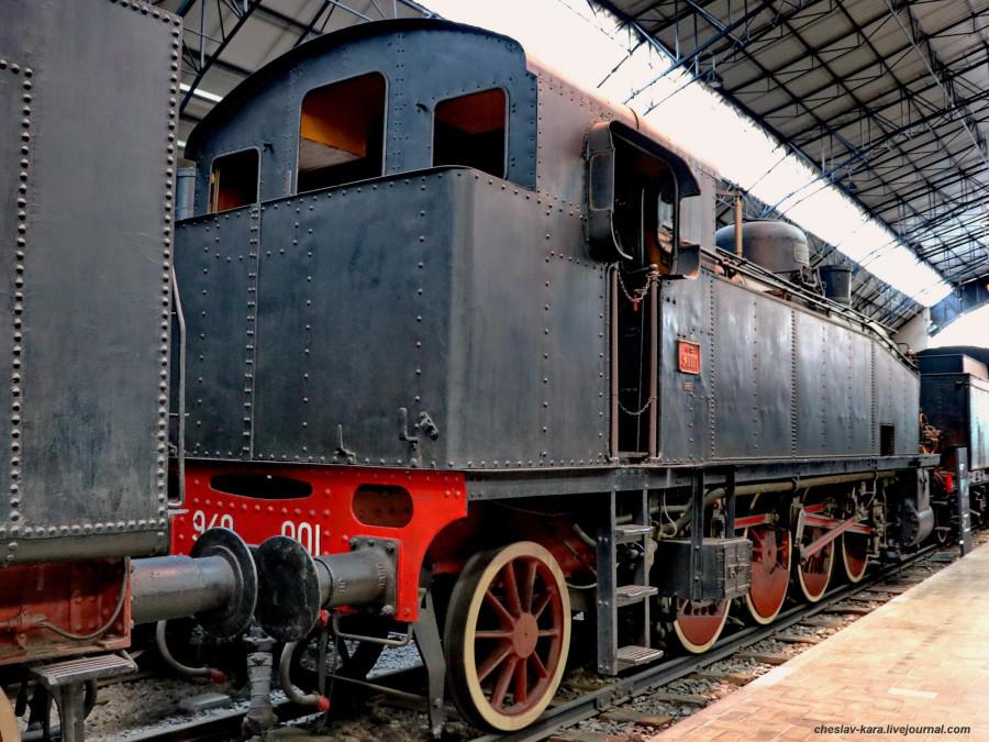 44 паровоз 940 001 (Милан, музей техники) _50.JPG
