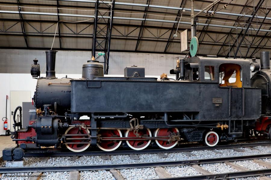 46 паровоз FS Nr P7, ук (Милан, музей техники) _40.JPG