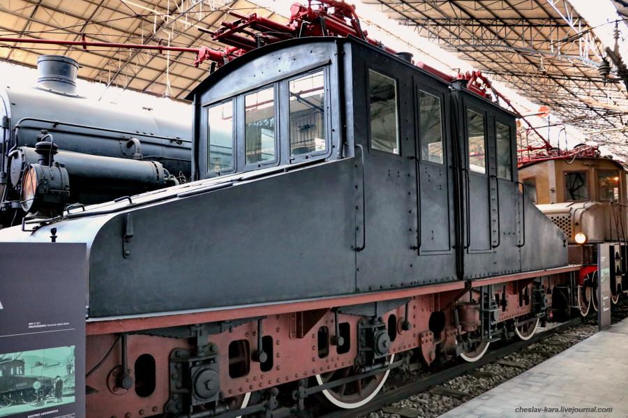11 электровоз E430 001 (Милан, музей техники) _50.JPG