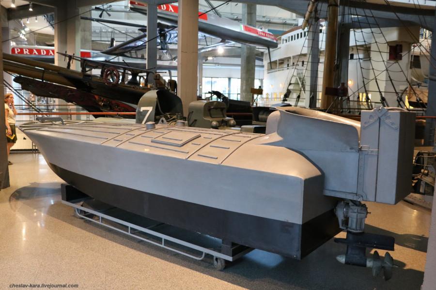 4 катер MTM (морской зал музея техники, Милан) _10.JPG