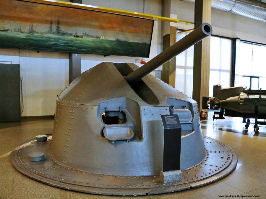 12 90-мм Ansaldo 90 mm 50 Mod 1938-39 (морской зал музея техники, Милан) _32.jpg