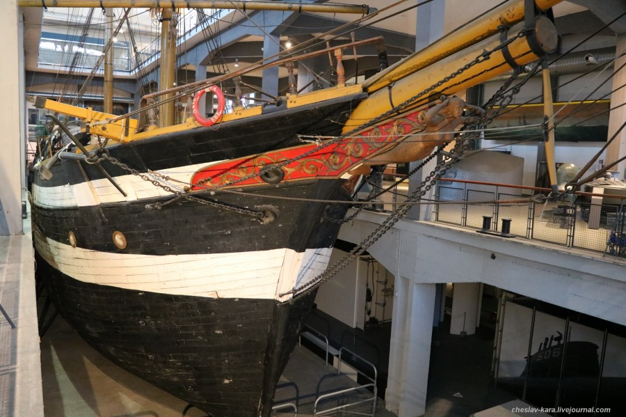 20 бригантина Ebe (морской зал музея техники, Милан) _40.JPG