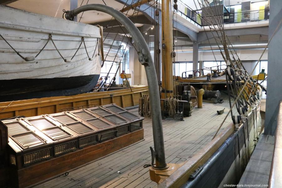 22 бригантина Ebe (морской зал музея техники, Милан) _70.JPG