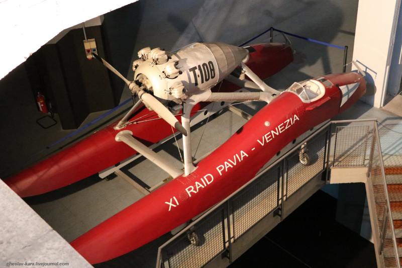 32 Аэроглиссер T108 (морской зал музея техники, Милан) _10.JPG