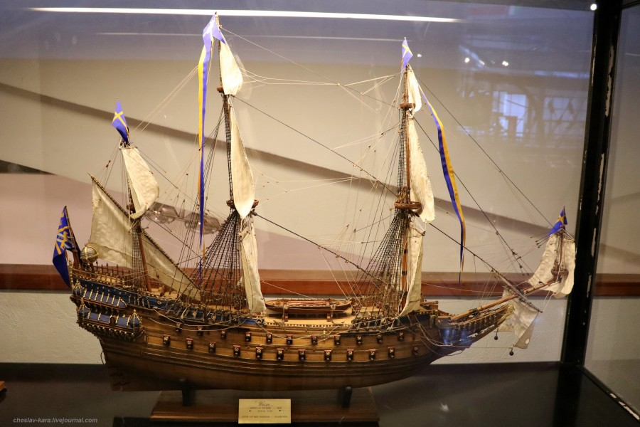 40 модель - ЛК Wasa, Швеция (морской зал музея техники, Милан) _20.JPG