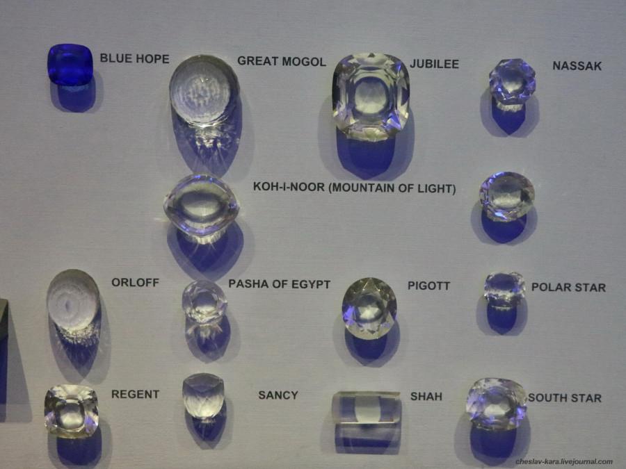 10 копии алмазов (Милан, музей техники).JPG