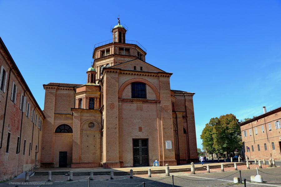 44 20 Пьяченца _1690 Basilica di Santa Maria di Campagna.JPG