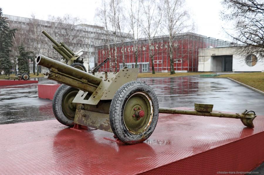 10 76 мм полковая обр1943г (муз об Мск, 2019) _10.JPG