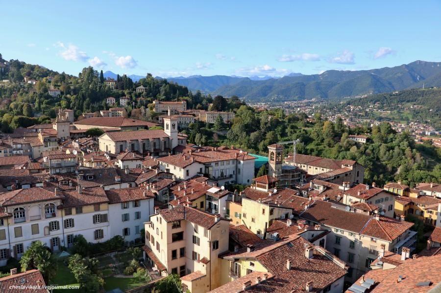 Бергамо - город наверху. - путешествия и прочее — LiveJournal