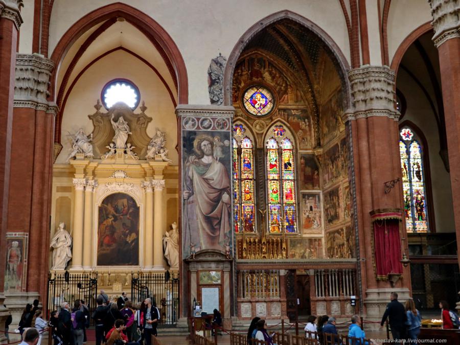 38 50 Болонья _1870 Basilica di San Petronio.JPG