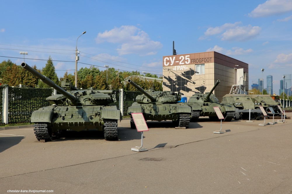0 танки и БТР (Поклонная гора, 2019) _20.JPG