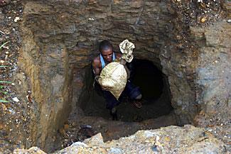 Конголезский шахтёр