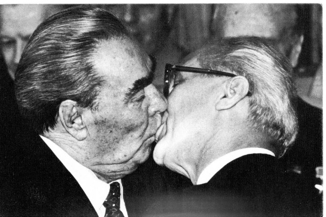 Брежнев и Хонеккер
