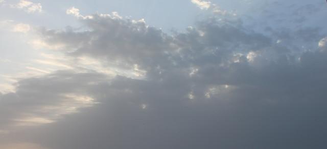 Тучи с Персидского залива