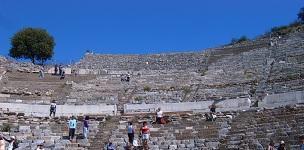 Каменные скамьи Древнеримского театра